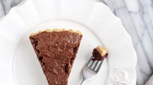 Gluten Free Chocolate Bourbon Pecan Pie