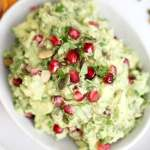 Pomegranate and Pumpkin Seed Guacamole