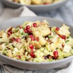 Cabbage, Pear and Roasted Cauliflower Salad