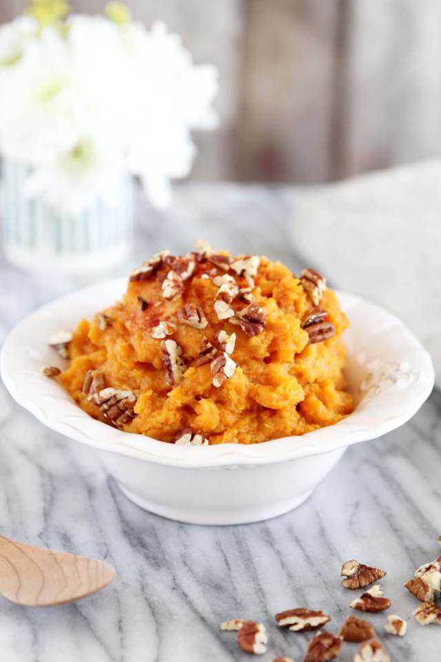 Smoky Mashed Sweet Potato with Pecans 3