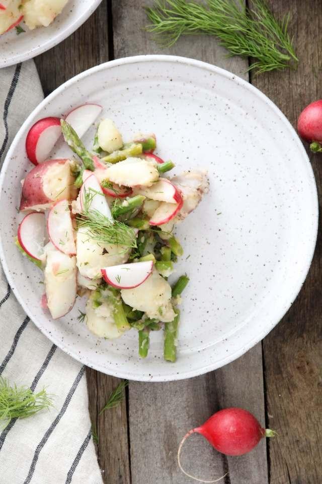 Lemon, Dill and Asparagus Potato Salad: Jessi's Kitchen