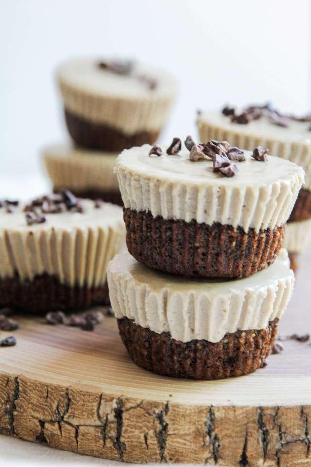 Coffee and Cacao Nib Vegan Cheesecake: Jessi's Kitchen