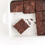 Fudgy Oat Flour Brownies