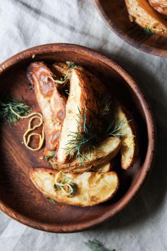 Lemon Dill Potato Wedges: Jessi's Kitchen