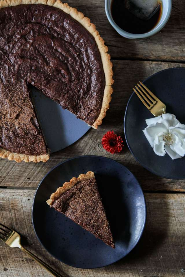 Gluten-free Chocolate Fudge Tart