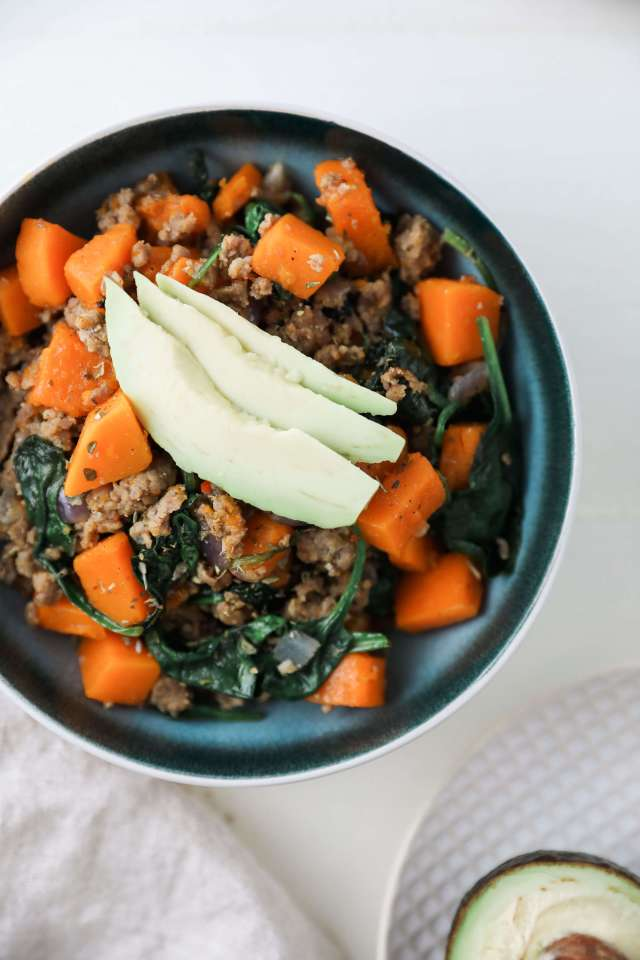 Sausage and Butternut Hash: Jessi's Kitchen