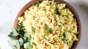 Instant Pot Coconut Curry Rice