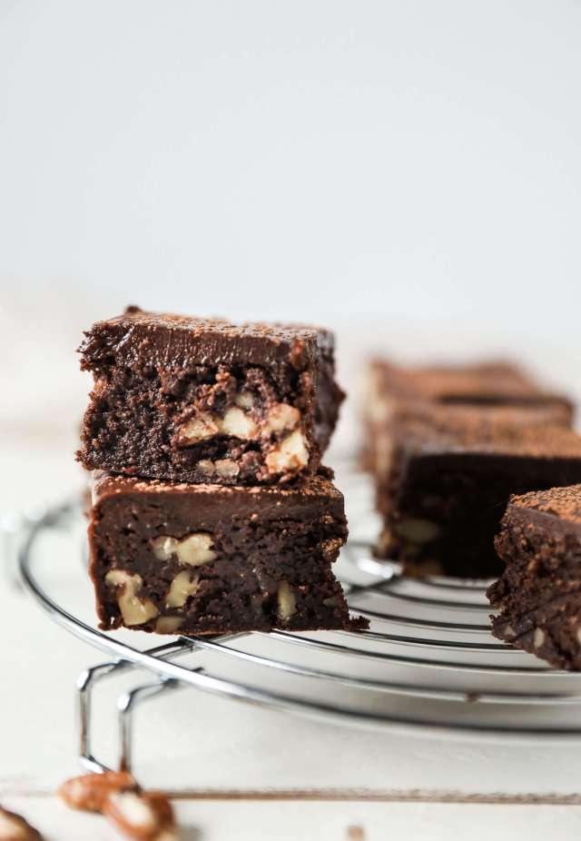 Gluten Free Chocolate Ganache Brownies Jessis Kitchen