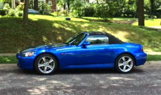 Sean's new Honda S2000