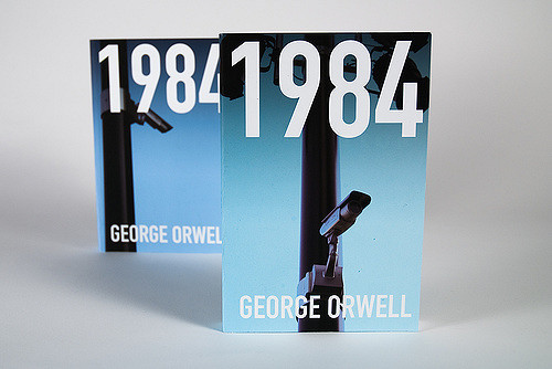 Nineteen Eighty-Four, by George Orwell