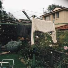 Washing nearly dry