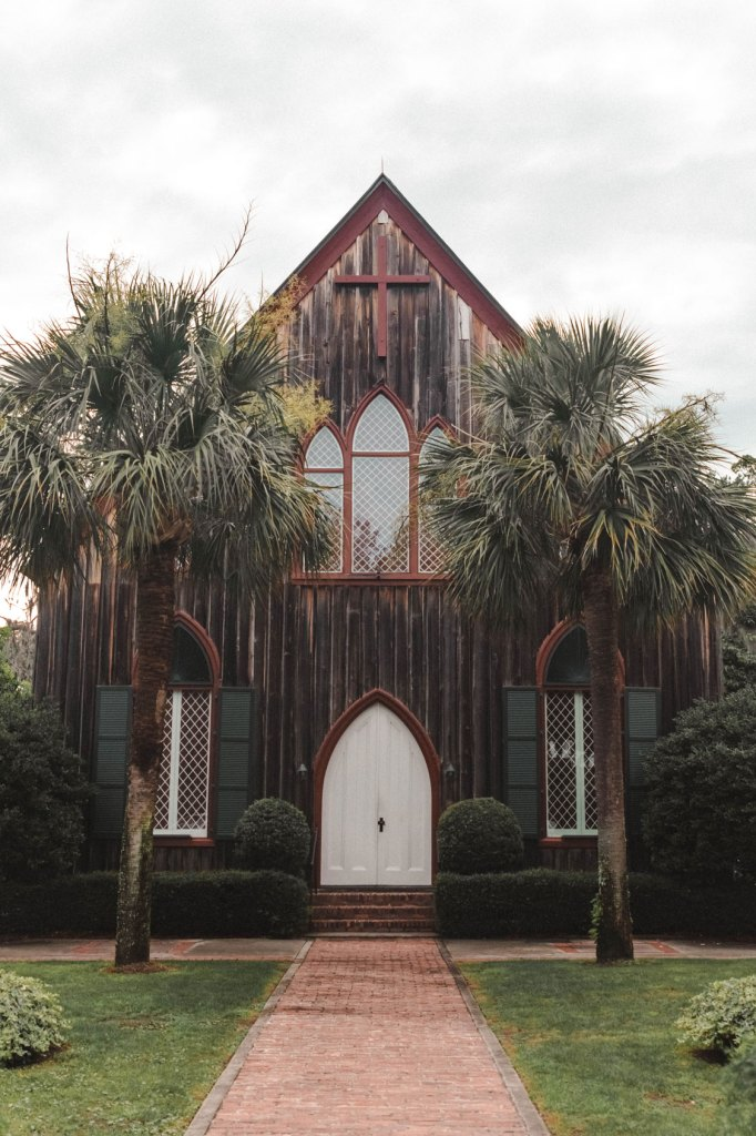 The Church of the Cross in charming Bluffton, South Carolina