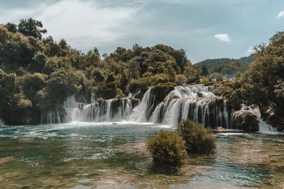 Skradinski Buk waterfall in Krka National Park