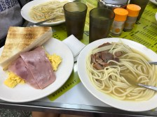 A typical breakfast meal at the famous Australia Dairy Co.
