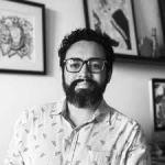 José Jimenez Vega, ilustrador y diseñador     gráfico