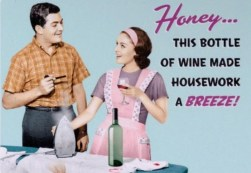 Wine and housework