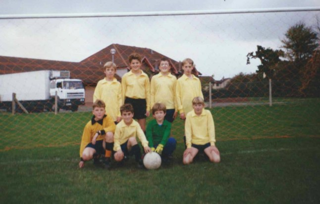 Kings Lodge School - my first football team