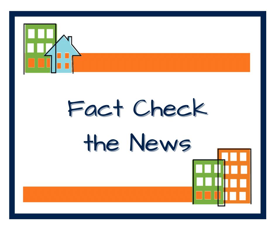 Fact Check the News blog header