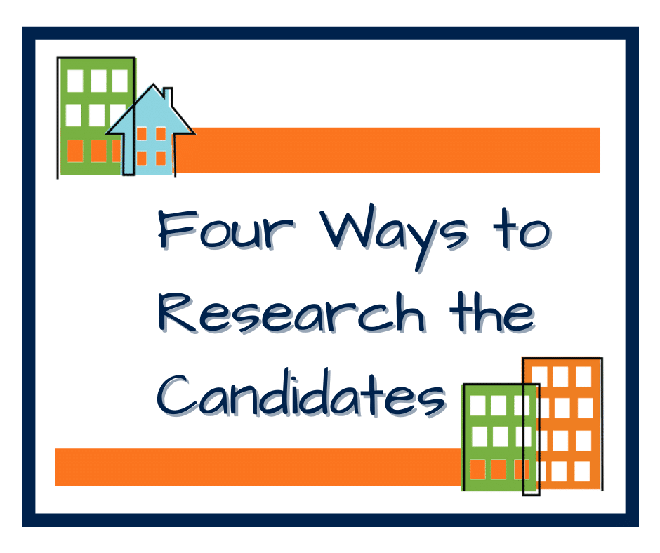 Four Ways to Research the Candidates header