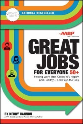 Great Jobs for Everyone 50 Plus book cover