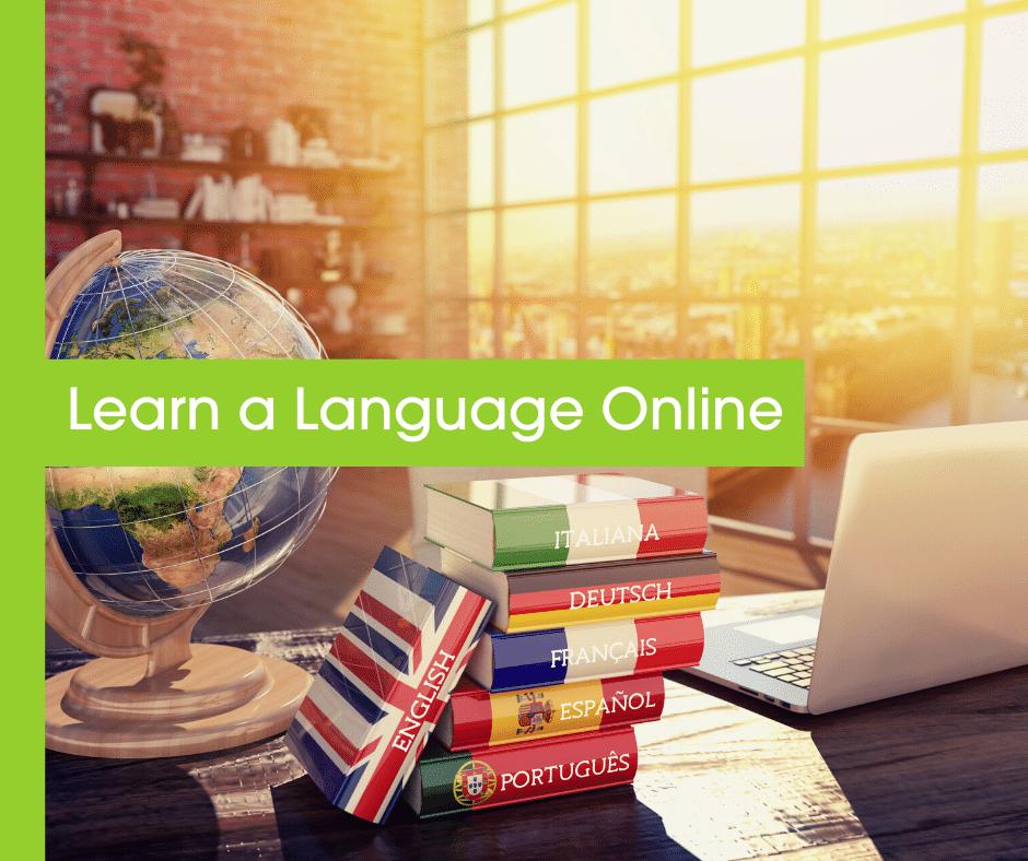 Learn a Language blog header