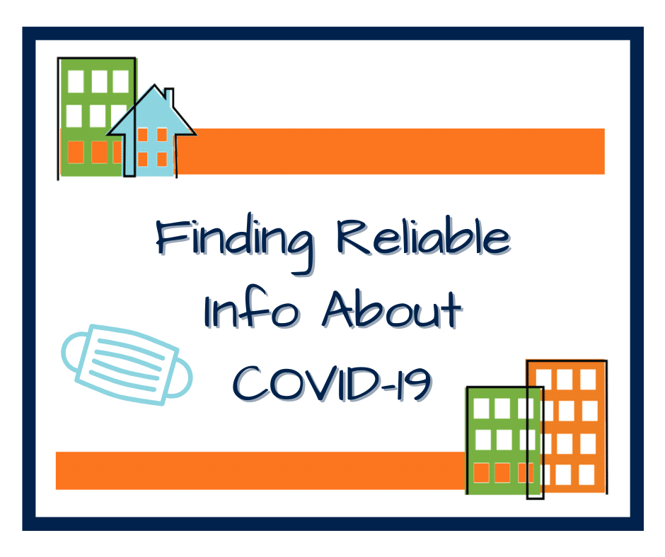 Finding Reliable Info about COVID-19