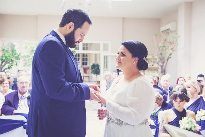 Woodborough Hall Nottingham Wedding - Emma & Nick