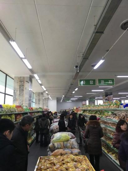 Snack aisle