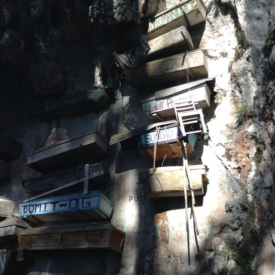 The Hanging Coffins