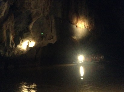 In the Underground River