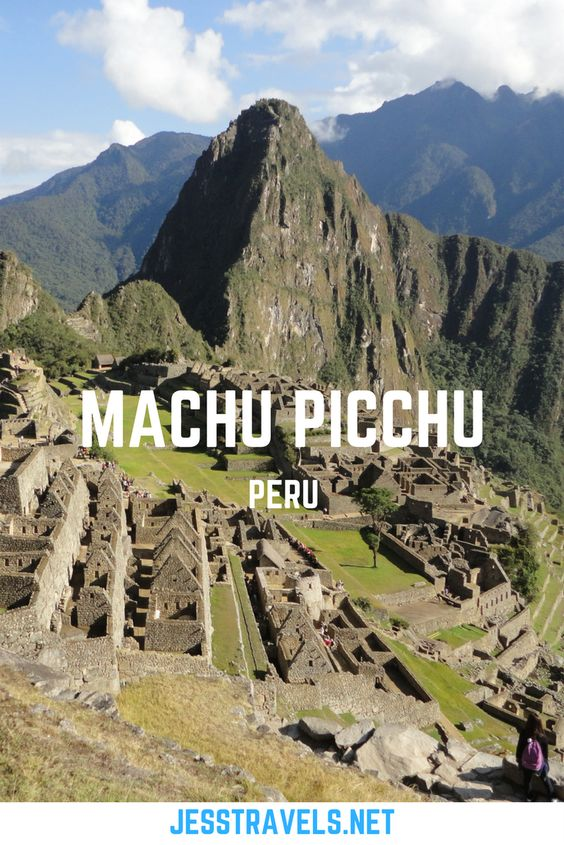 Travel blog about my visit to Machu Picchu in Peru. One of the seven ancient wonders of the World! Includes pictures and facts about the Inca ruin site in South America. Click through for more information ...