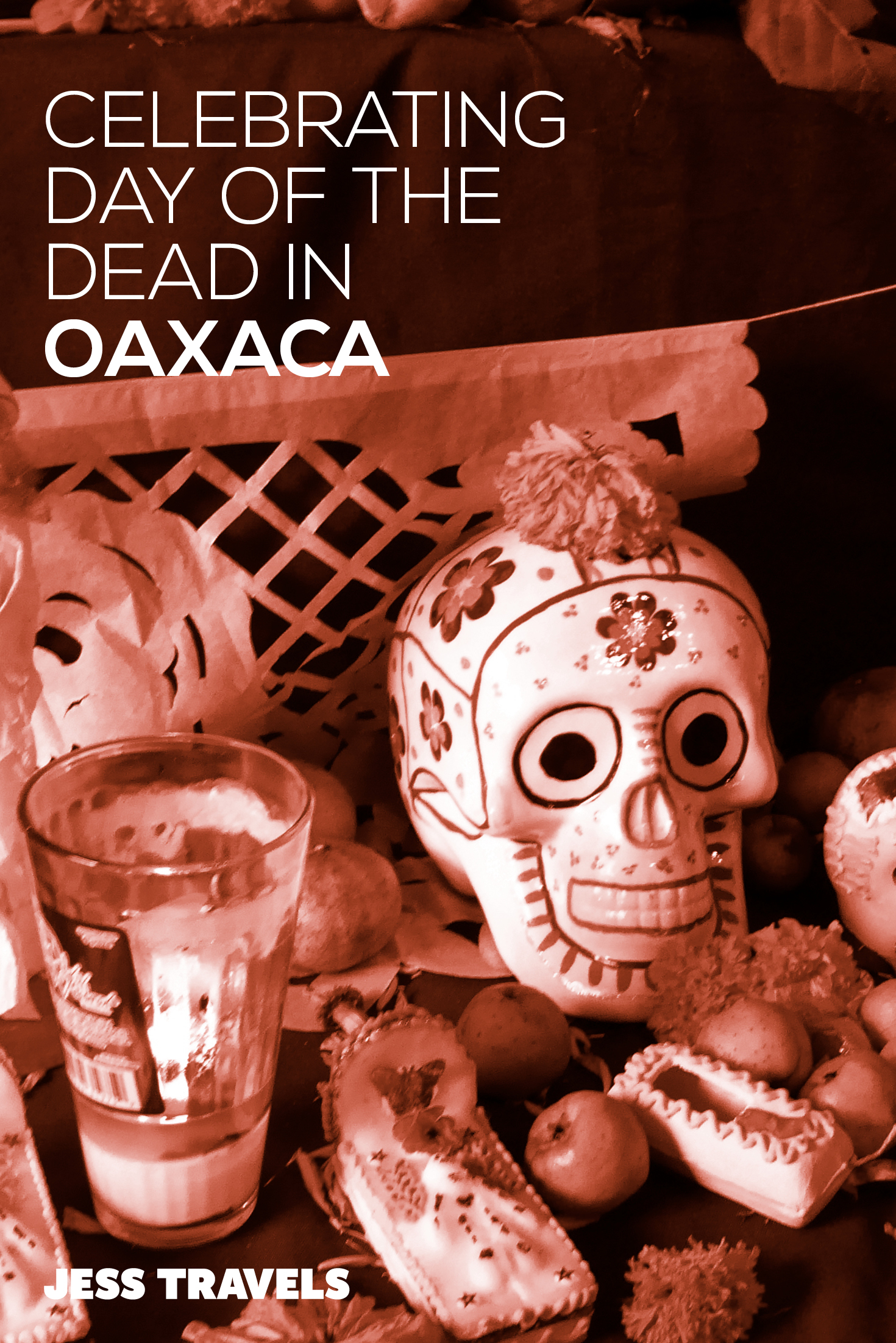 Celebrating Day of the Dead in Oaxaca - Mexico. My experience of the incredible festival in Mexico - Dia de los Mueros or Day of the Dead. Sugar skulls, fancy dress and street parties! #Mexico #mexicotravel #sugarskull #dayofthedead