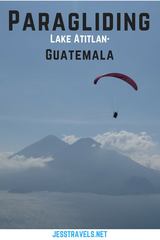 Paragliding Lake Atitlan - Guatemala. Central America / Latin America adventure travel activities! Travel blog and information about how to go paragliding in Panajachel , Guatemala. Prices, photos and videos included. Click through to read more...