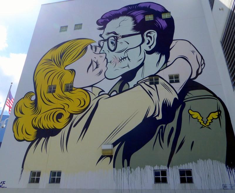 Wynwood miami pop art style school building street art wynwood walls