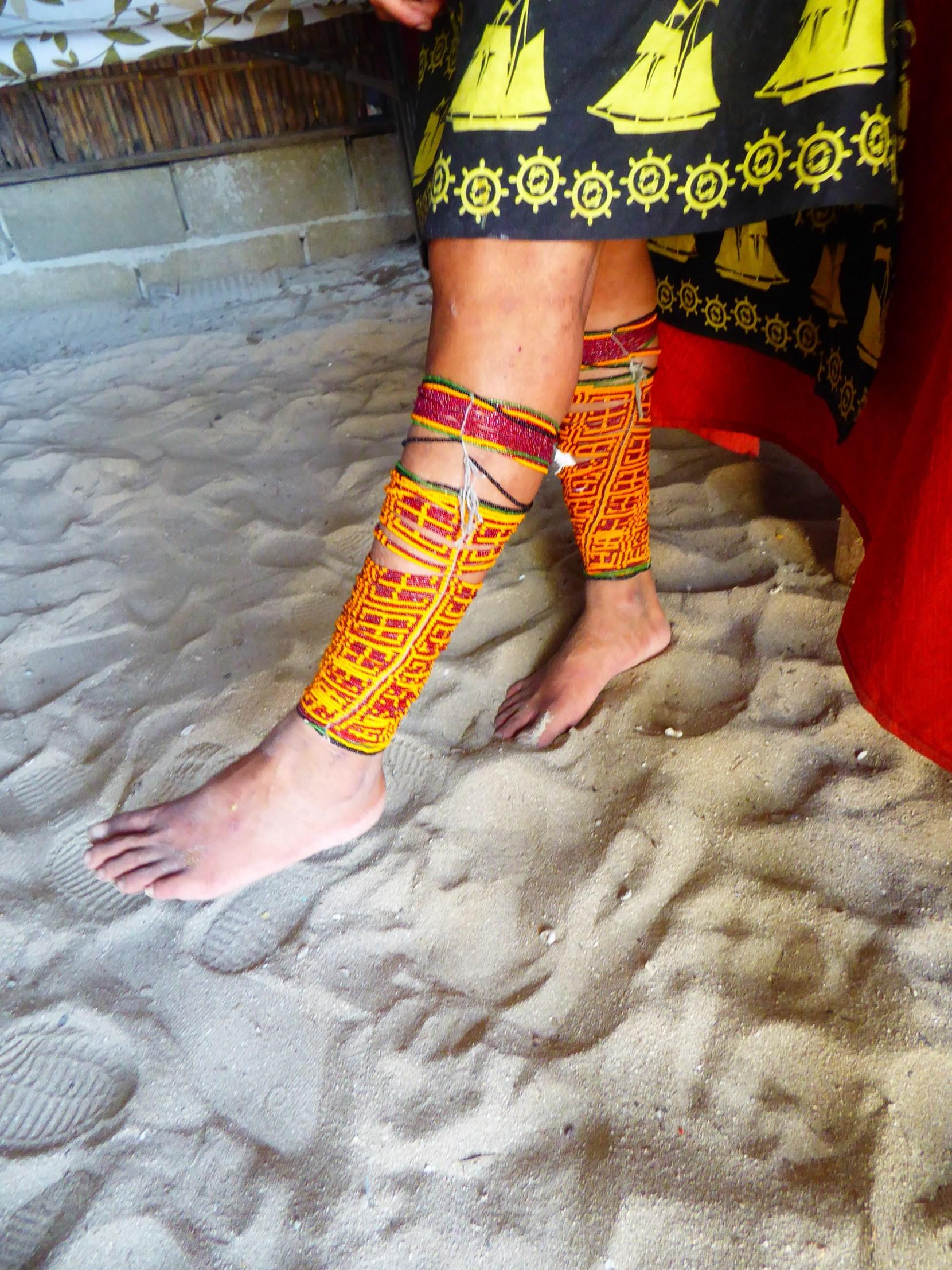 kuna art anklets jewellery san blas islands indigenous guna yala