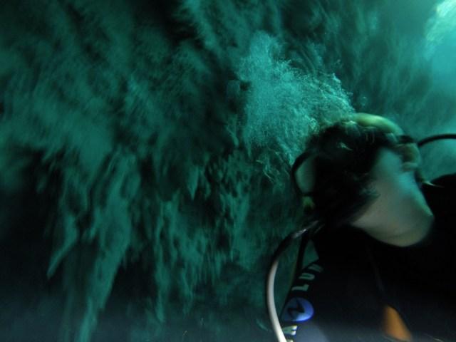 cenote the pit scuba diving dive playa del carmen tulum mexico quintana roo