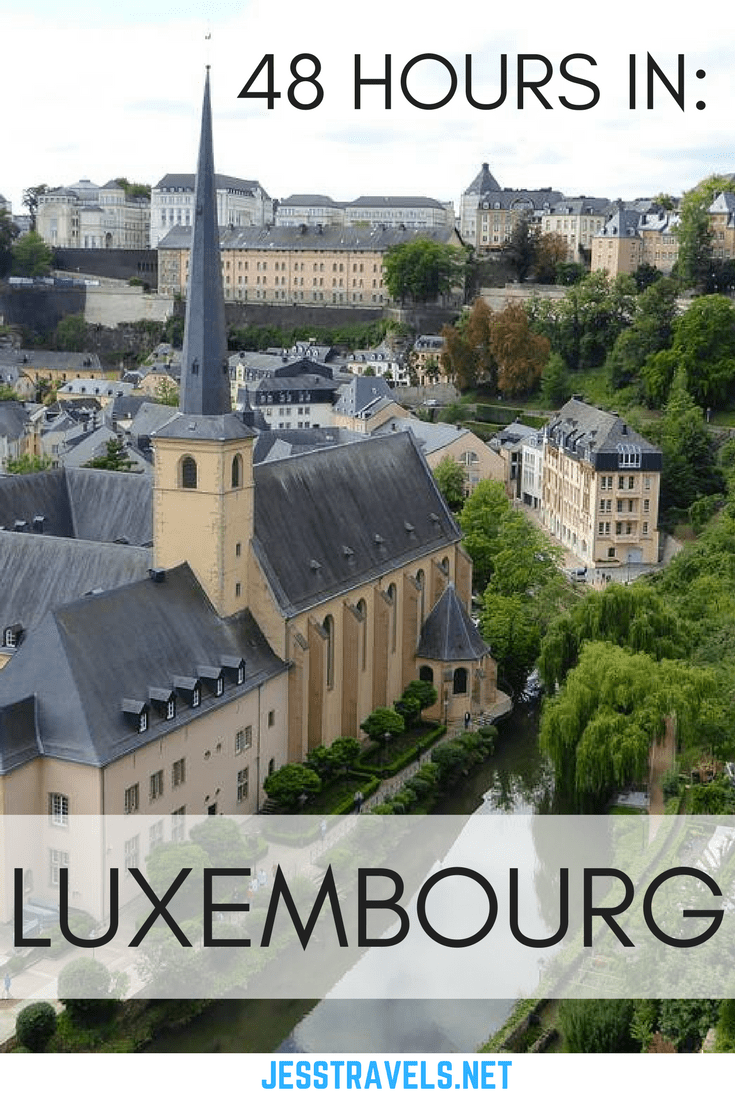 48 Hours in Luxembourg. How to spend 2 days / 48 hours trevelling Luxembourg. Including Luxembourg City and Vianden town and castle. Click through to read more,,