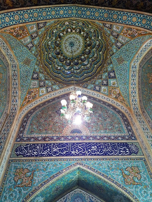 beautiful mosque iran