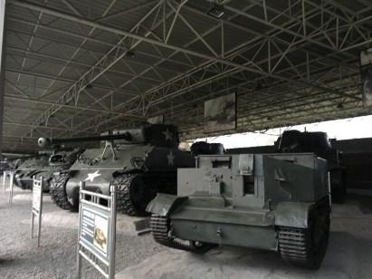 Captured American Tanks