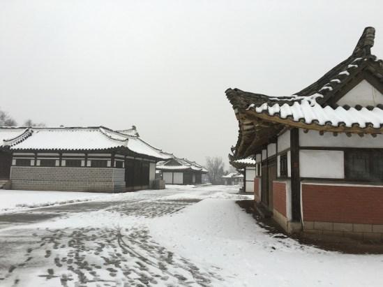 Traditonal Korean Street