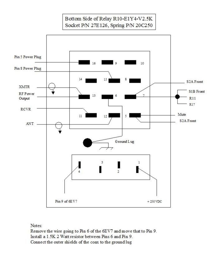 Relay Wiring on Wiring Diagram For A Dayton 11 Pin Time Delay Relay