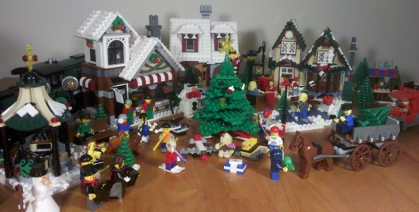 LEGO Holiday Review Winter Village Post Office 10222