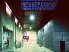 Lichtinszenierung kleine Halle