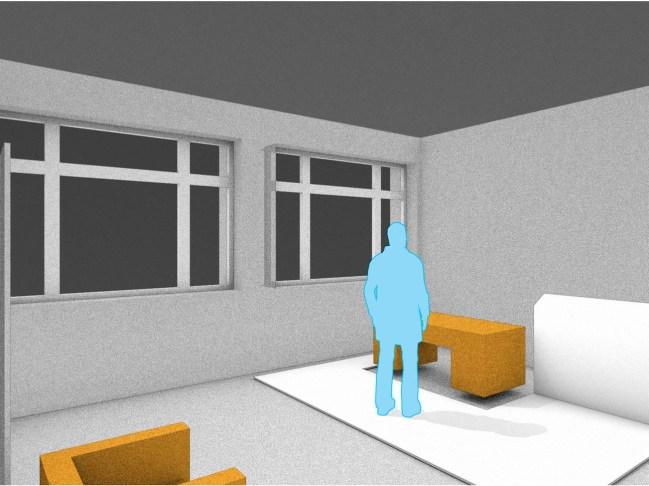Modul im Raum