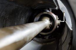 Dampfmaschine Detail