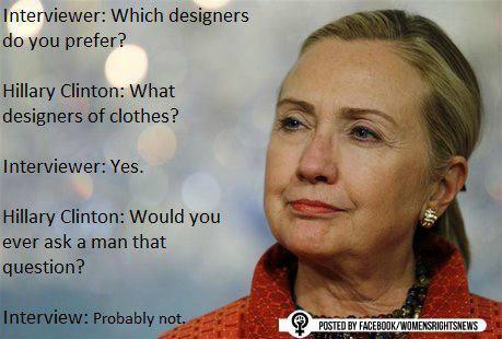 pytanie do Hillary Clinton