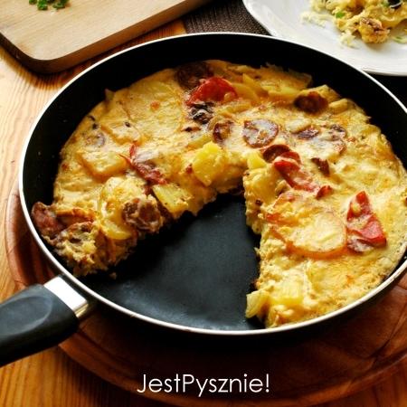 040 Hiszpanska tortilla ziemniaczana z chorizo SQ