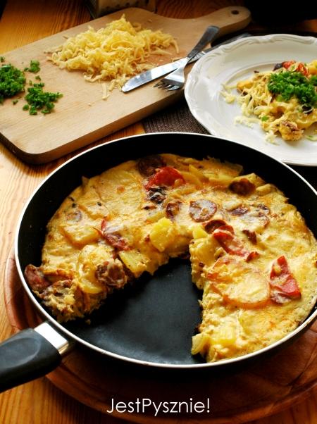 040 Hiszpanska tortilla ziemniaczana z chorizo V3
