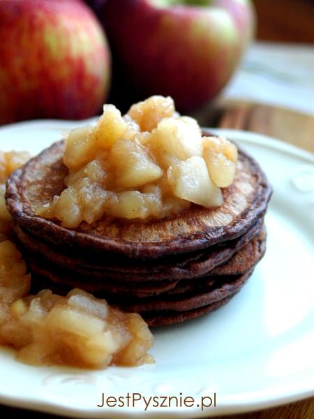 111 Pancakes czekoladowe z jabłkami V5
