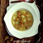 Makaron z borowikami w sosie śmietanowym
